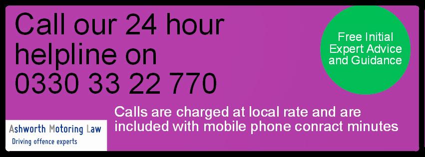 Ashworth Motoring Law Helpline.